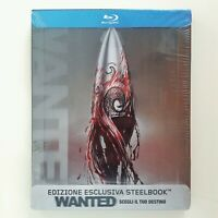 WANTED / bluray limited steelbook - fuori catalogo - NEW SEALED