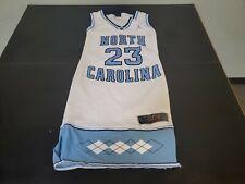 Rare Htf North Carolina Unc Tar Heels Nike Michael Jordan Women's Jersey Dress