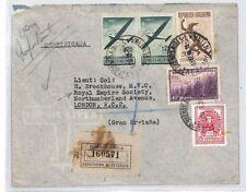 XX351 1946 ARGENTINA Buenos Aires GB London Royal Empire Society