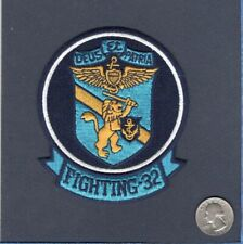 VF-32 SWORDSMEN US NAVY F-14 Tomcat F-4 Phantom Fighter Early Squadron Patch