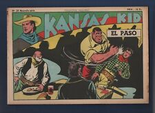 COLLECTION WILD WEST n°28 nouvelle série -  Kansas Kid.  SAGE 1949 Carlo COSSIO