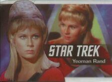 Star Trek 50th Anniversary Bridge Crew Heroes Chase Card P9 Yeoman Rand