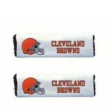 Cleveland Browns Seatbelt Shoulder Embroidered Pads ( Set of Two )