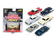 MINT RELEASE 1 SET B SET OF 6 CARS 1/64 DIECAST BY RACING CHAMPIONS RC001 B