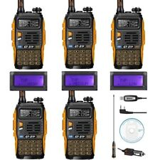 5* Baofeng GT-3 MK III TP + 1 free USB Cable 136-174/400-520 1/4/8W 2-way Radio