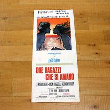 DUE RAGAZZI CHE SI AMANO locandina poster affiche Anicée Alvina Elton John AA89