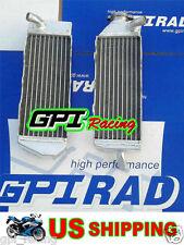 GPI R&L aluminum radiator Suzuki RM125 RM 125 1989 1990 89 90