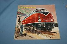 Marklin Katalogue 1957 NL