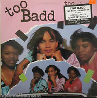 "TOO BADD ~ Too Badd / Cumin Up ~ 12"" Single PS USA PRESS PROMO"