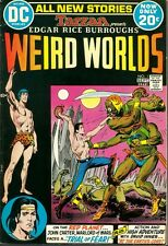 Weird Worlds 1 VF 1st JOHN CARTER OF MARS 1972 ERB DC