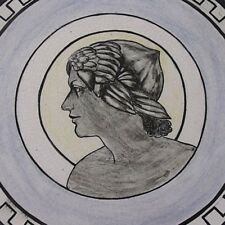 Classical Maiden Wall Plaque / Plate By Muriel Pearson