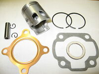 POLARIS SCRAMBLER SPORTSMAN PREDATOR OUTLAW 50cc ATV PISTON KIT GASKETS (2-STRO)