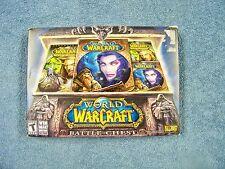 World of Warcraft: Battle Chest DVD-ROM(Windows/Mac) New- Disks Never Opened