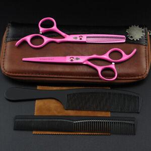 "Schwarzkopf Candy 6"" Cutting & Thinning Hairdressing Scissors Set RRP £175.00"