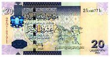 Libya … P-74 … 20 Dinars … ND(2009) … *UNC*