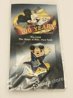 Disney 100 Years Of Dreams State Pin #100 The Magic Is You New York State Flag