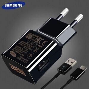 Original Samsung Schnell Ladegerät USB Typ C Kabel Galaxy S9 S8+ Note 8 9 C9 Pro