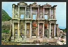 Posted C1990s View of The Library of Celsus, Turkey