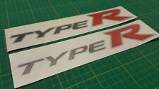 Civic Type R Type-R Side GT GP Décalques 200 mm fn2 Restoration Replacement JDM