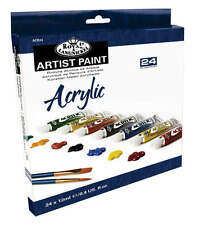 Royal Langnickel Artist Acrylic 24 x 12ml Paint Tube Box Set. Assorted Colours