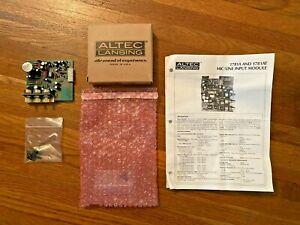 Altec Lansing 1781AT Microphone / Line Input Module w Transformer Balanced. NOS