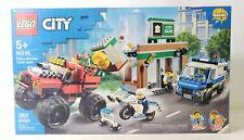 Lego City Police Monster Truck Heist Building Toy Set 362pcs 60245