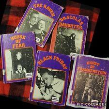 5 Crestwood House Movie Monsters Book Drac Daughter Raven Fear Black Fri Frank