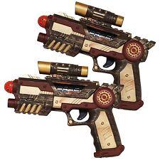 Un par de pistolas Nemo Prop Steampunk Pistola Blaster Pistola Cosplay Accesorio 2pc