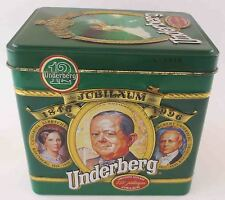 Underberg Dose Sammler edition 1996 Blechdose Collection 150 Jahre Jubiläum 2
