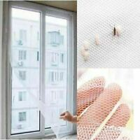 WINDOW SCREEN FLY INSECT NET MESH WHITE BLACK BUG MOSQUITO MOTH NETTING NEW