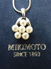 MIKIMOTO - Akoya Cultured Pearl Pendant - 6 Lustrous Pearls - REDUCED