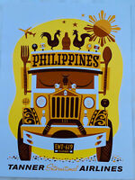 Philippines Jeepney  Art Print. By Eric Tan