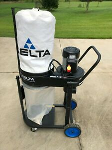 Delta Dust Collection System 1HP Induction Motor 750 CFM 2 Micron Filtration Bag