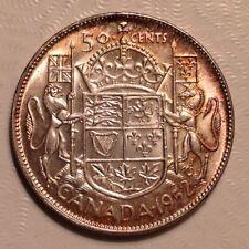 1952 Canada George VI  50 Cents
