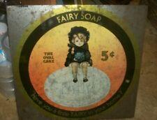 Original Fairy Soap Metal Tin Sign Home Kitchen Decor Art Vintage Cleaning