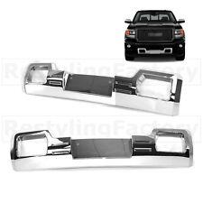 14-15 GMC Sierra 1500 Denali Style Chrome Front Bumper Skid Plate Overlay Cover