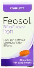 Feosol Completo bifera quadril e Pic 30 cápsulas suplemente De Ferro