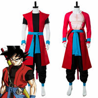 Super Dragon Ball Heroes Universe Mission Son Goku ZENO Saiyan 4 Cosplay Costume