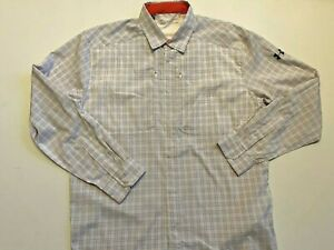 Under Armour New Tide Chaser 2.0 Plaid Fishing Shirt Men's Large 1353336 MSRP$70