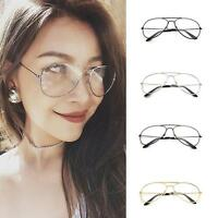 Hot Woman Men Retro Eyeglasses Frames Clear Lens Glasses Reading Glass USDH
