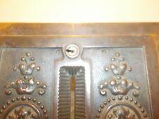 National Cash Register ORIGINAL Receipt Box Lock and Key NCR
