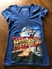 Back To The Future Ladies T-shirt Size S