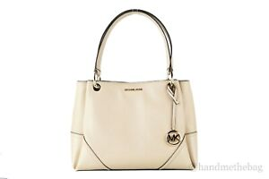 Michael Kors Nicole Large Signature Shoulder Tote Handbag