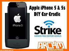 STRIKE ALPHA APPLE IPHONE 5 & 5s CAR CRADLE DIY - BUILT-IN FAST CHARGER SECURE