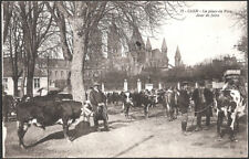 CAEN (14) - La Place du Parc - Jour de Foire