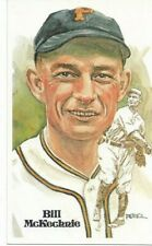 Bill McKechnie Perez-Steele Hall of Fame Art Postcard Pittsburgh Pirates #88