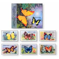 BEN0101 Butterflies, block and 6 stamps MNH BENIN