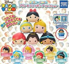 TOMY Disney Princess TSUM TSUM Figures Bottle collection Gashapon x5