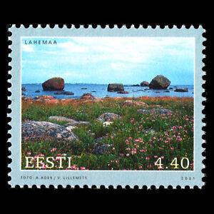 Estonia 2001 - Baltic coastal landscapes - Sc 423 MNH
