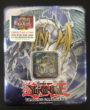 Yugioh GX 2007 Rainbow Dragon Tin Factory Sealed Mint